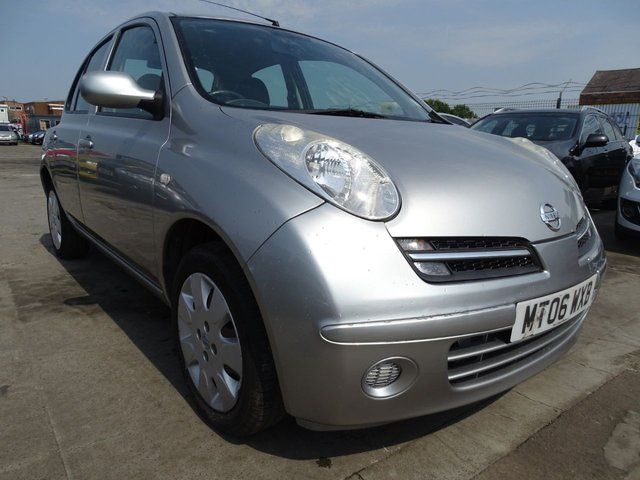 USED 2006 06 NISSAN MICRA 1.2 SE 5d 80 BHP AUTOMATIC LOW MILES