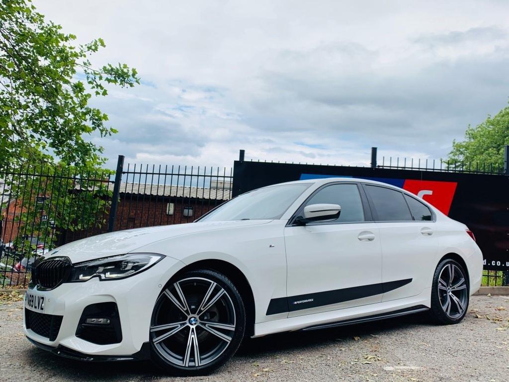 USED 2019 69 BMW 3 SERIES 2.0 320d M Sport Auto (s/s) 4dr PERFORMANCEKIT+REVCAM+19S