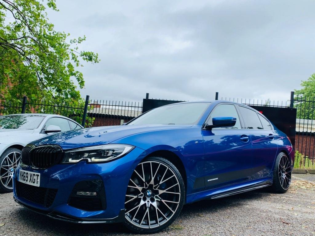 USED 2019 69 BMW 3 SERIES 3.0 330d M Sport Auto (s/s) 4dr PERFORMANCE KIT 20s WOW