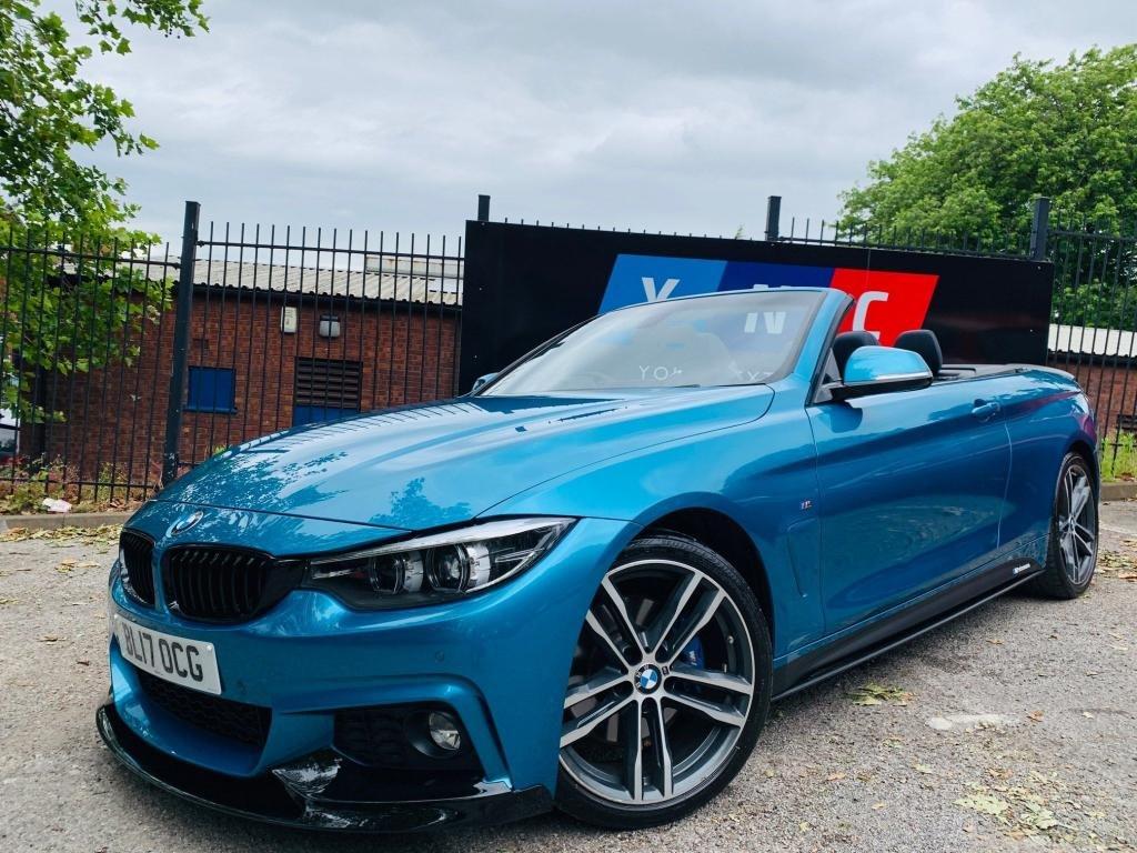 USED 2017 17 BMW 4 SERIES 2.0 420d M Sport 2dr PERFORMANCEKIT+PLUS&COMFORTPAK
