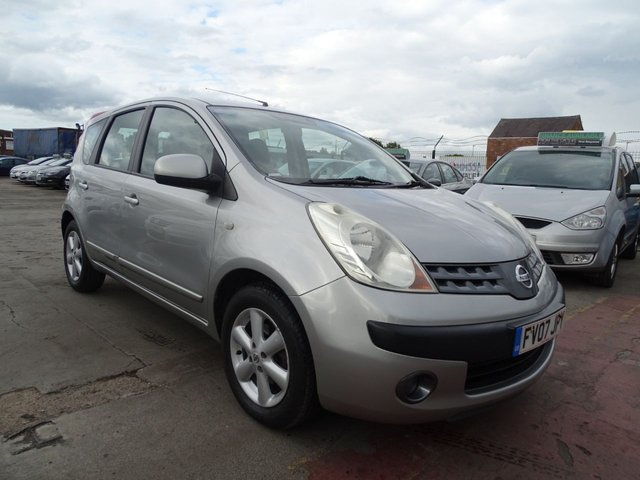 USED 2007 07 NISSAN NOTE 1.6 SE 5d AUTOMATIC DRIVES VERY WELL
