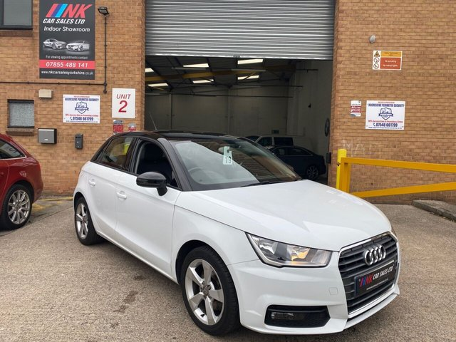 2015 15 AUDI A1 1.6 SPORTBACK TDI SPORT 5d 114 BHP BLACK ROOF PLUS FULL LEATHERS NOW IN STOCK  BUY NOW PAY LATER SOLD TO ALANA FROM SHEFFIELD