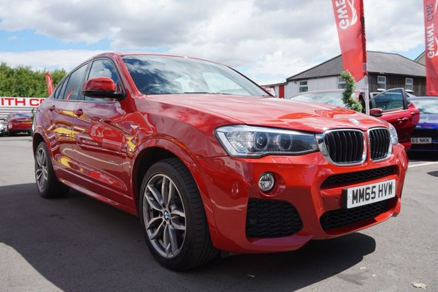 USED 2015 65 BMW X4 2.0 XDRIVE20D M SPORT 4d 188 BHP * JUST ARRIVED *CLEAN EXAMPLE* *