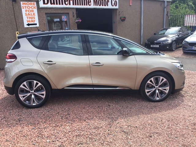 USED 2017 17 RENAULT SCENIC 1.5 DYNAMIQUE NAV DCI EDC 5d 109 BHP ++ LOW MILEAGE DIESEL AUTOMATIC ++