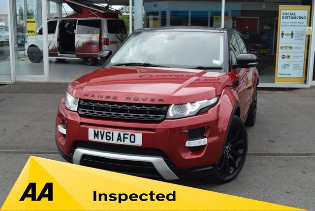 USED 2011 61 LAND ROVER RANGE ROVER EVOQUE 2.2 SD4 Dynamic 5dr Auto [Lux Pack] FINANCE TODAY WITH NO DEPOSIT.  SERVICE HISTORY - SEVEN STAMPS