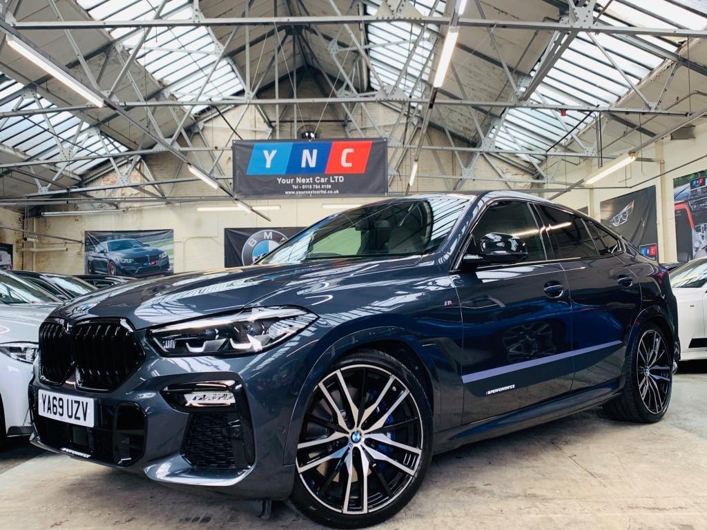 USED 2019 69 BMW X6 3.0 30d M Sport Auto xDrive (s/s) 5dr 22s TECH &PLUS & COMF PACKS