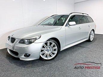 2007 BMW 5 SERIES 3.0 535D M SPORT TOURING 5d 356 BHP £7500.00