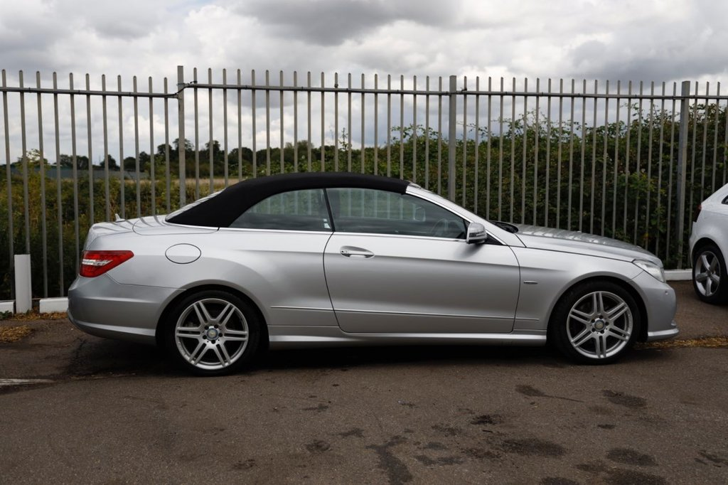 USED 2011 61 MERCEDES-BENZ E-CLASS 2.1 E250 CDI BLUEEFFICIENCY SPORT 2d 204 BHP