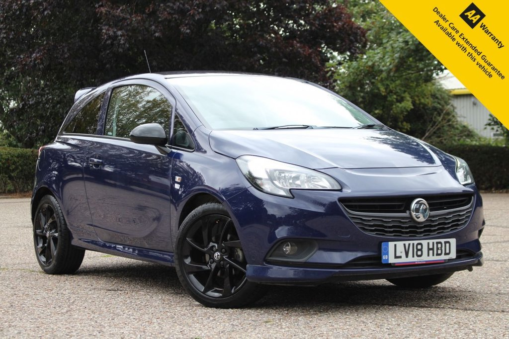 USED 2018 18 VAUXHALL CORSA 1.4 LIMITED EDITION ECOFLEX 3d 74 BHP ** SUPERB LOW MILEAGE NEW SHAPE FACELIFT CORSA ** PERSIAN BLUE METALLIC - GLOSS BLACK ALLOY WHEELS - AMAZING COMBO ** FINANCE AVAILABLE ** ENQUIRE TODAY FOR AN INSTANT APPROVAL ** CLICK & COLLECT AVAILABLE ** NATIONWIDE DELIVERY AVAILABLE **