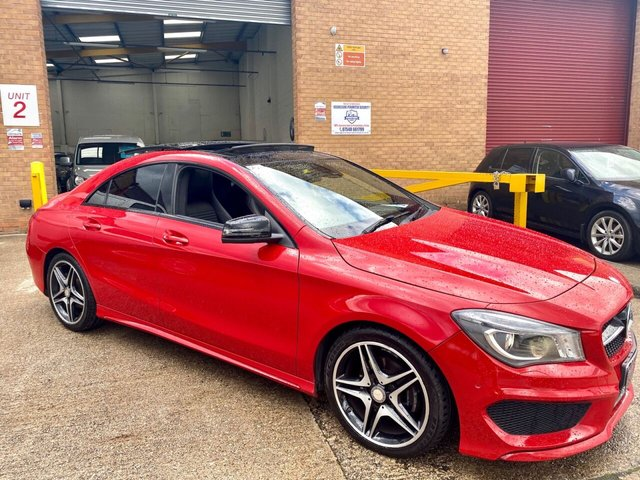 2014 64 MERCEDES-BENZ CLA 2.1 CLA200 CDI AMG SPORT 4d 136 BHP OPENING PAN ROOF MODEL HARMON KARDON SOUND SYSTEM  REVERSE CAMERAS SOLD SOLD