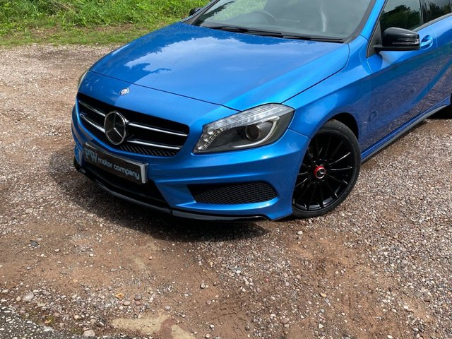 USED 2013 63 MERCEDES-BENZ A-CLASS 1.8 A200 CDI BLUEEFFICIENCY AMG SPORT 5d 136 BHP