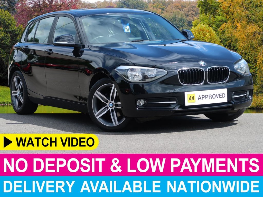 USED 2012 12 BMW 1 SERIES 116i SPORT STEP AUTO PETROL AUTOMATIC 5DR AUTOMATIC PARK ASSIST CLIMATE