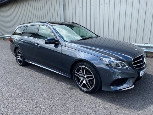 2015 15 MERCEDES-BENZ E-CLASS 3.0 E350 BLUETEC AMG NIGHT EDITION PREMIUM 5d 255 BHP ESTATE