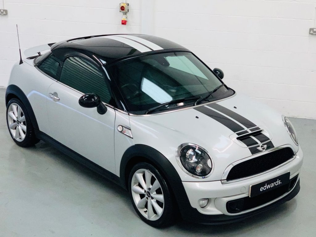 USED 2012 62 MINI COUPE 2.0 COOPER SD 2d 141 BHP