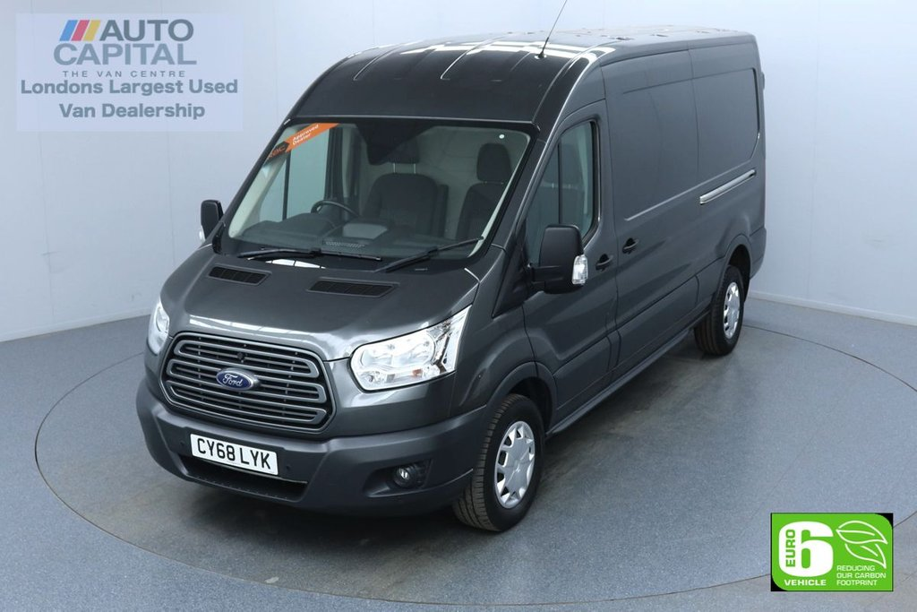 USED 2018 68 FORD TRANSIT 2.0 350 Trend L3 H2 130 BHP Euro 6 Low Emission Finance Available Online | Front and rear parking sensors | UK Delivery