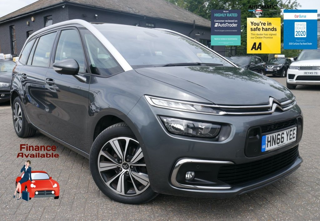 USED 2016 66 CITROEN C4 GRAND PICASSO 1.6 BLUEHDI FEEL S/S EAT6 5d 118 BHP EURO 6 ULEZZ FREE NAVIGATION