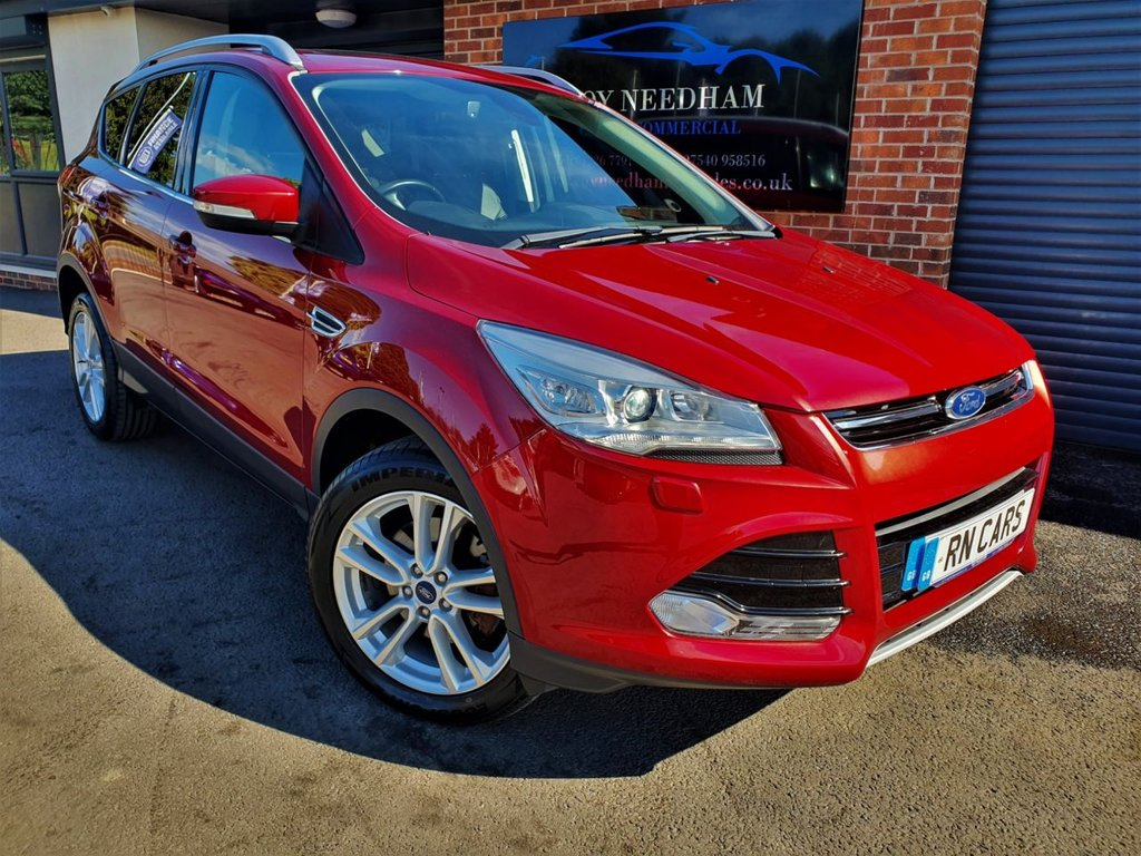 USED 2015 15 FORD KUGA 2.0 TITANIUM X SPORT TDCI 5DR 177 BHP *** 180BHP -  LEATHER - CRUISE ***