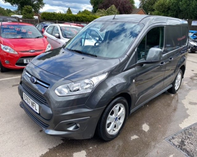 2018 67 FORD TRANSIT CONNECT 1.5 TDCI 200 LIMITED L1 120 BHP