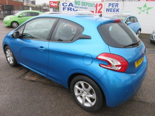 USED 2012 12 PEUGEOT 208 1.4 ACTIVE 3d 95 BHP **CALL 01543 454566**