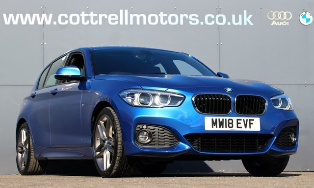 2018 18 BMW 1 SERIES 2.0 120I M SPORT 5d 181 BHP [ FULL LEATHER ]