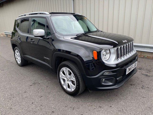 2015 65 JEEP RENEGADE 1.4 LIMITED 170 BHP PETROL AUTOMATIC