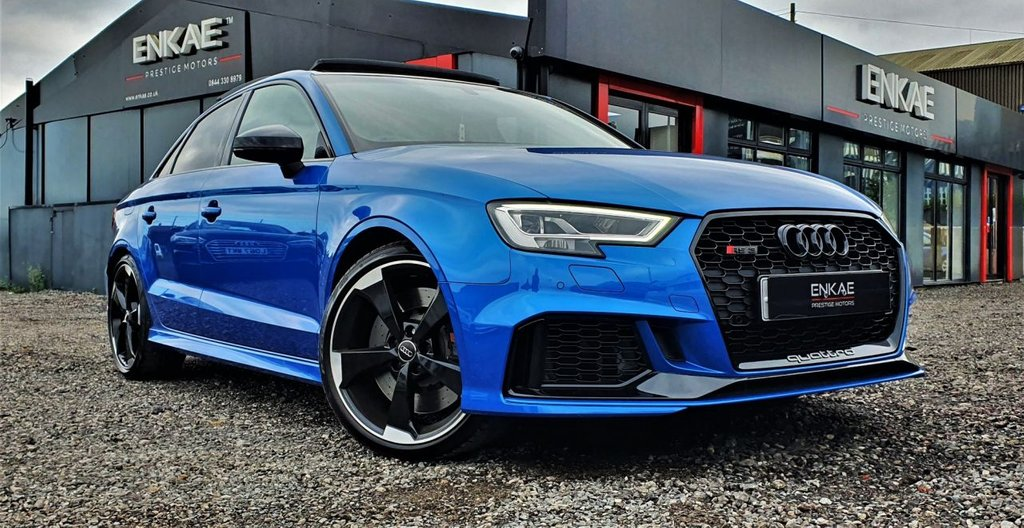 USED 2017 67 AUDI RS3 SALOON 2.5 RS 3 QUATTRO 4d 395 BHP 2 YEAR EXTENDED WARRANTY