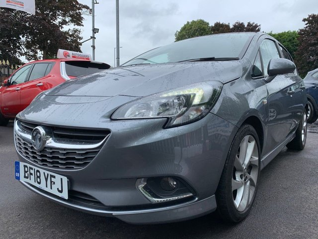 USED 2018 18 VAUXHALL CORSA 1.4 SRI VX-LINE 3d 89 BHP AIRCON+17ALLOYS+MEDIA+AUX+USB+