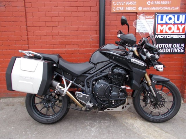 USED 2012 12 TRIUMPH TIGER 1200 EXPLORER  *FDSH,Nice Extras, Pipewerx Can, Nice CNDT* A Great Example Of Triumph Explorer. Finance Available.