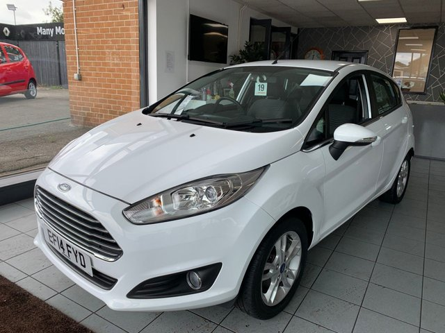 USED 2014 14 FORD FIESTA 1.2 ZETEC 5d 81 BHP **EXCELLENT EXAMPLE**LOW MILEAGE**
