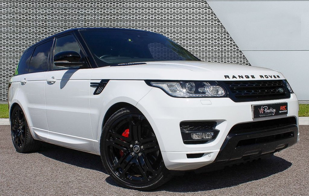 """USED 2013 63 LAND ROVER RANGE ROVER SPORT 3.0 SDV6 AUTOBIOGRAPHY DYNAMIC 5d 288 BHP **7 SEATS/23"""" ALLOYS/BLACK PACK**"""