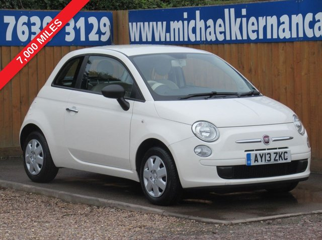 USED 2013 13 FIAT 500 1.2 POP 3d 69 BHP IMMACULATE