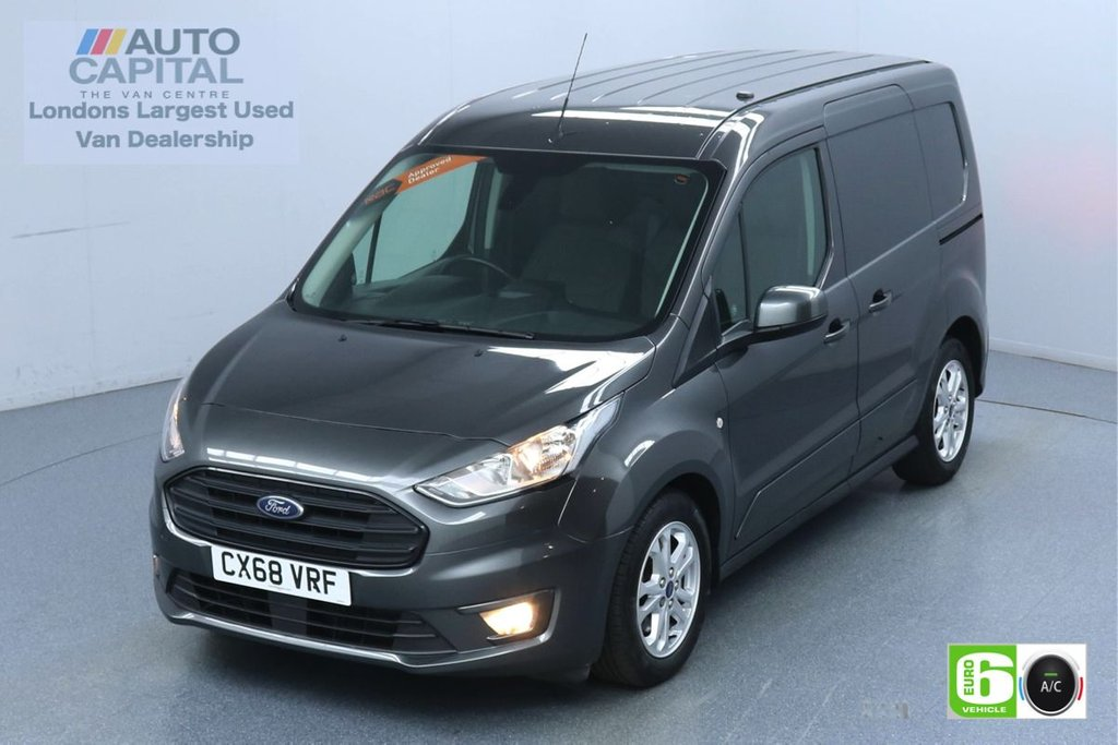 USED 2018 68 FORD TRANSIT CONNECT 1.5 200 Limited 120 BHP L1 SWB 3 Seats Euro 6 Low Emission Finance Available Online | Keyless | Rear Tow Fitted