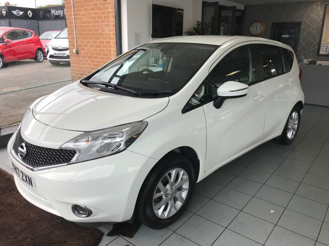 USED 2017 17 NISSAN NOTE 1.2 ACENTA PREMIUM 5d 80 BHP **1 OWNER FROM NEW**