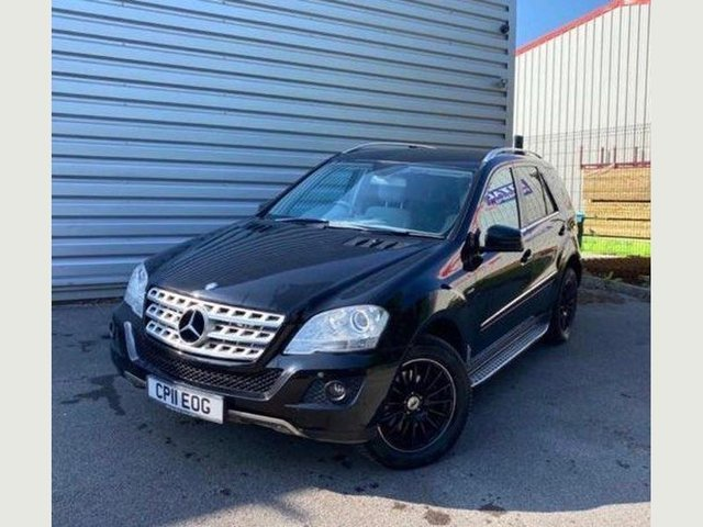 2011 11 MERCEDES-BENZ M-CLASS 3.0 ML350 CDI BLUEEFFICIENCY SPORT 5d 231 BHP