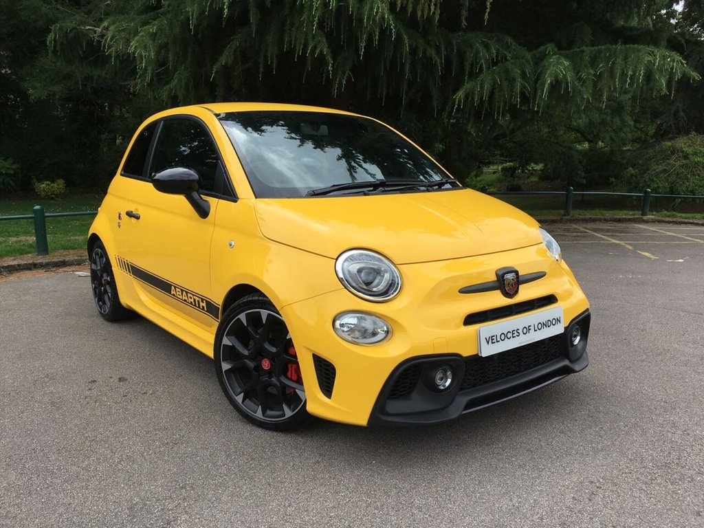 USED 2016 66 ABARTH 595 1.4 595 COMPETIZIONE 3d 177 BHP OVER £2500 OF FACTORY EXTRAS