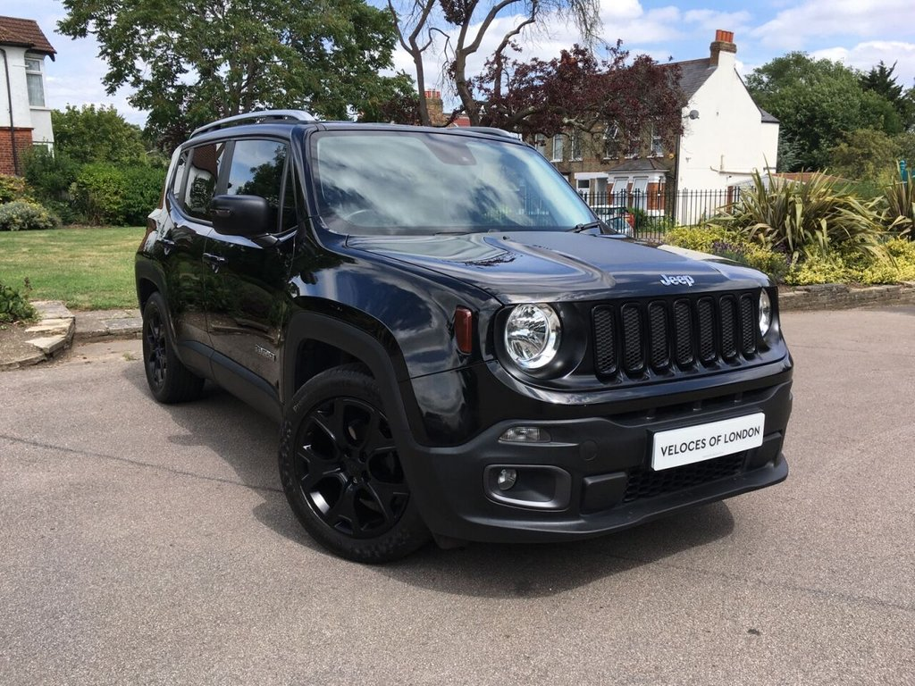USED 2015 65 JEEP RENEGADE 1.4L LIMITED 5d 138 BHP