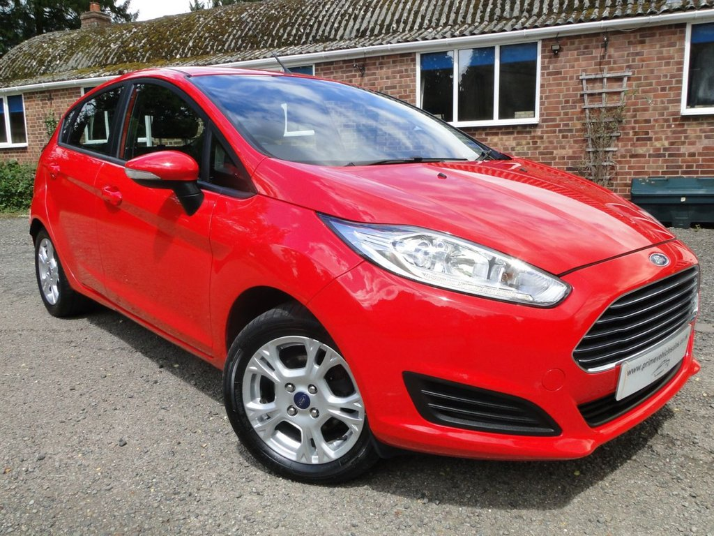 USED 2015 65 FORD FIESTA 1.5 TDCI Style 5dr A/C + Alloys