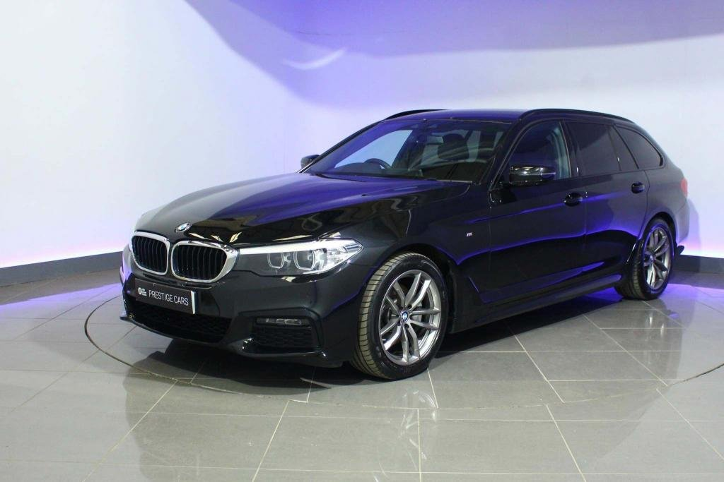 USED 2019 19 BMW 5 SERIES 2.0 520d M Sport Touring Auto xDrive (s/s) 5dr SAT NAV  - HEATED SEATS - DAB