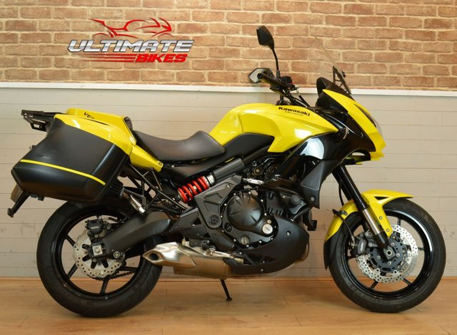 USED 2015 15 KAWASAKI KLE 650 FFF ABS VERSYS **LUGGAGE INCLUDED**