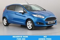USED 2016 66 FORD FIESTA 1.0 ZETEC BLUE EDITION SPRING 5d 99 BHP SAT NAV | ALLOYS | AIR CON |