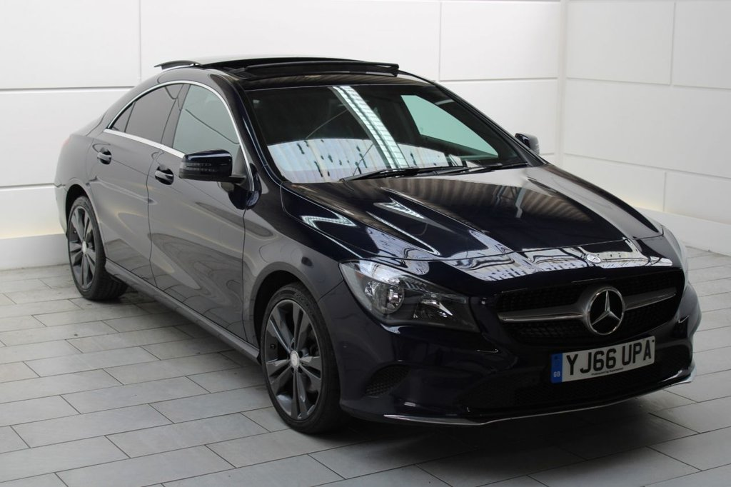 USED 2016 66 MERCEDES-BENZ CLA 2.1 CLA220d Sport 7G-DCT [PAN ROOF]