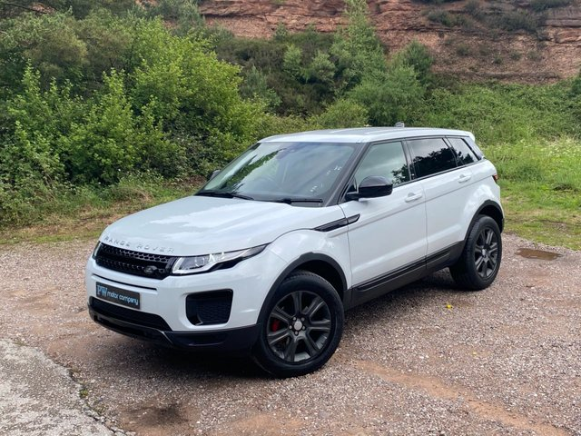 USED 2016 16 LAND ROVER RANGE ROVER EVOQUE 2.0 ED4 SE 5d 148 BHP FULL LEATHER low miles