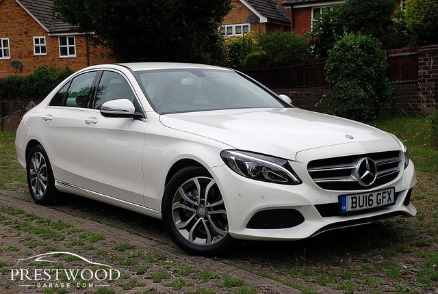 2016 16 MERCEDES-BENZ C-CLASS C220d SPORT AUTO  [170 BHP] 4 DOOR SALOON