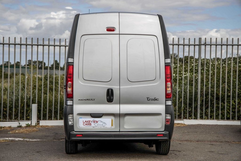 USED 2010 10 RENAULT TRAFIC 2.0 LH29 DCI H/R 115 BHP