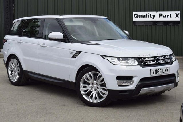 USED 2016 66 LAND ROVER RANGE ROVER SPORT 3.0 SD V6 HSE Dynamic CommandShift 2 4X4 (s/s) 5dr 7 SEATER, PANROOF, FINANCE