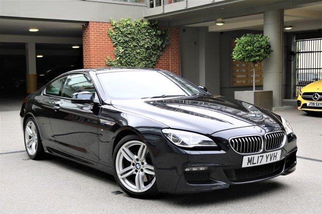 USED 2017 17 BMW 6 SERIES 3.0 640D M SPORT 2d 309 BHP