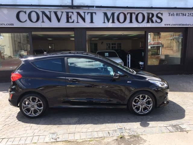 USED 2018 18 FORD FIESTA 1.0 ST-LINE 3d 99 BHP