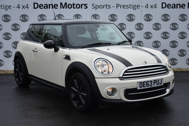 2013 63 MINI HATCH COOPER 1.6 COOPER D 3d 112 BHP CHILLI PACK
