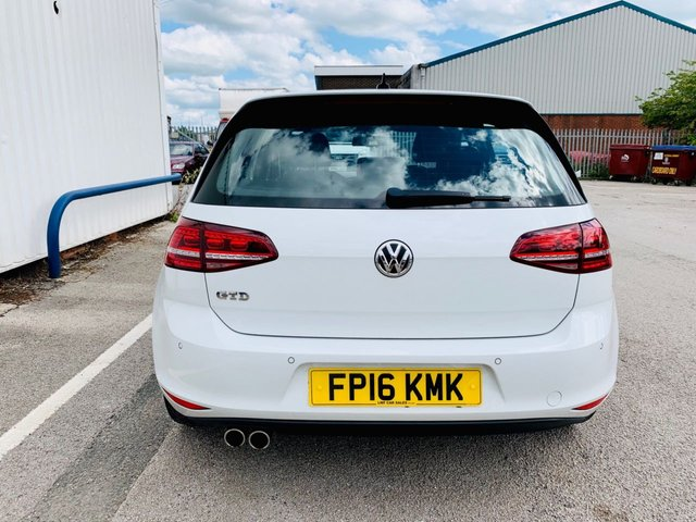 USED 2016 16 VOLKSWAGEN GOLF 2.0 GTD TDI 5d 170 BHP ONLY £20 A YEAR ROAD TAX - FULL VW SERVICE HISTORY - JUST ONE OWNER FROM NEW - 3 MONTH WARRANTY