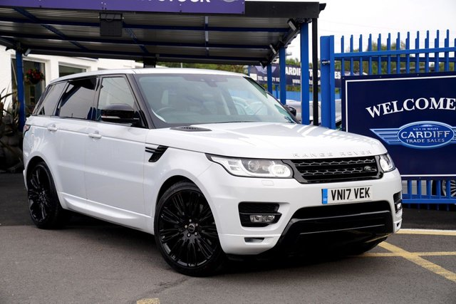 2017 17 LAND ROVER RANGE ROVER SPORT 3.0 SDV6 HSE 5d 306 BHP 7 SEATS
